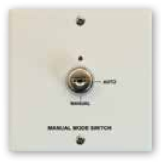 Manuele/Auto switch blussing